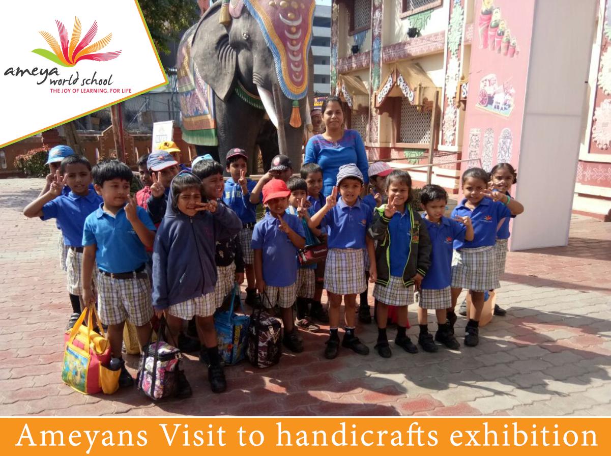 Handicrafts Exhibition Visit Ameya World School